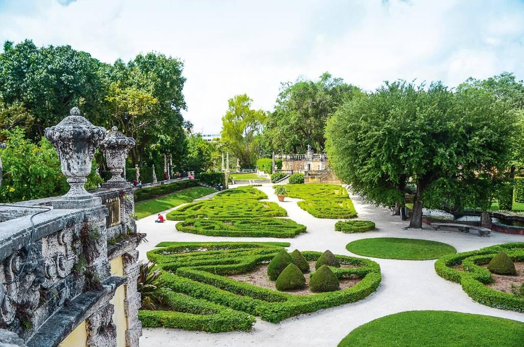 Um pouquinho de história no Vizcaya Museum and Gardens