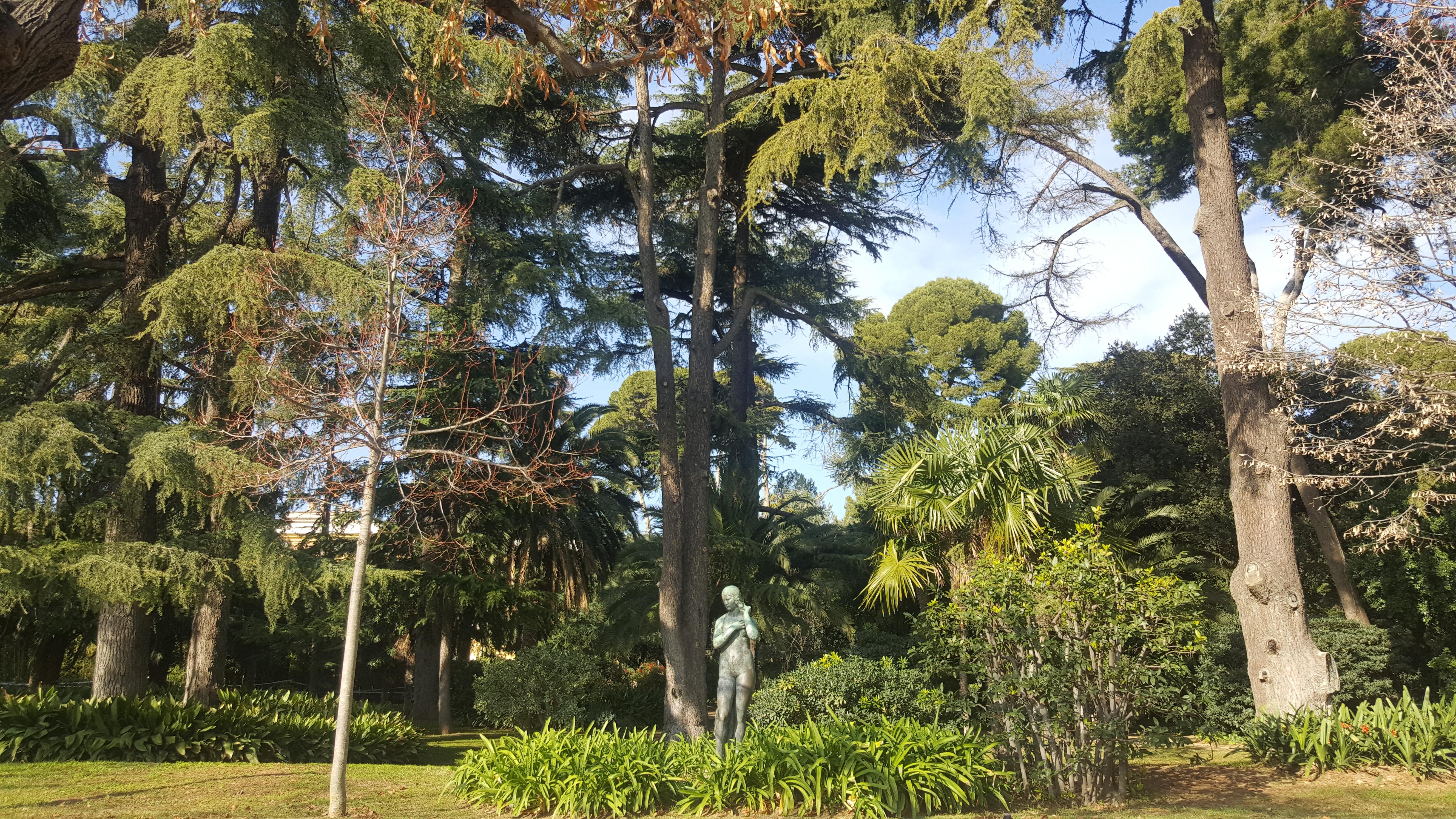 Verde e paz em Pedralbes