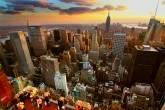 Que tal ver um lindo entardecer em Nova York nesse ano? :) Foto: Jerry Ferguson