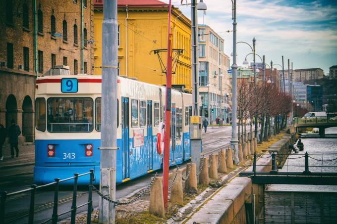 Gotemburgo, na Suécia