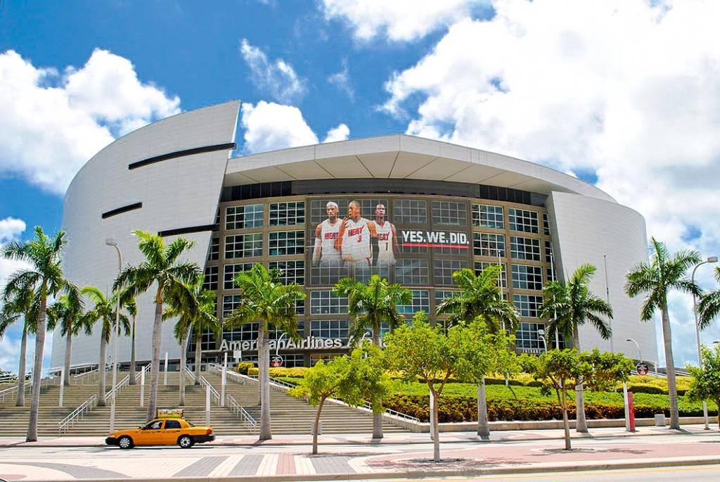American Airlines Arena, Biscane Bay, Flórida, EUA