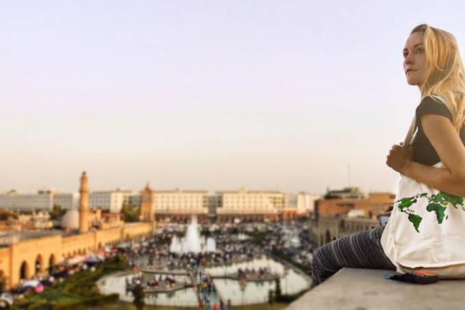 Cassie de Pecol, a primeira mulher do mundo a bater recorde ao visitar todos os países em menor tempo
