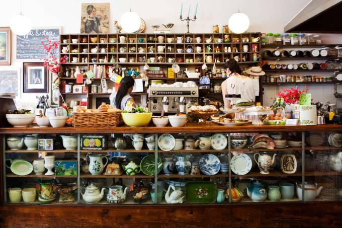 Delicatessen The Kitchen bairro de Woodstock na Cidade do Cabo África do Sul