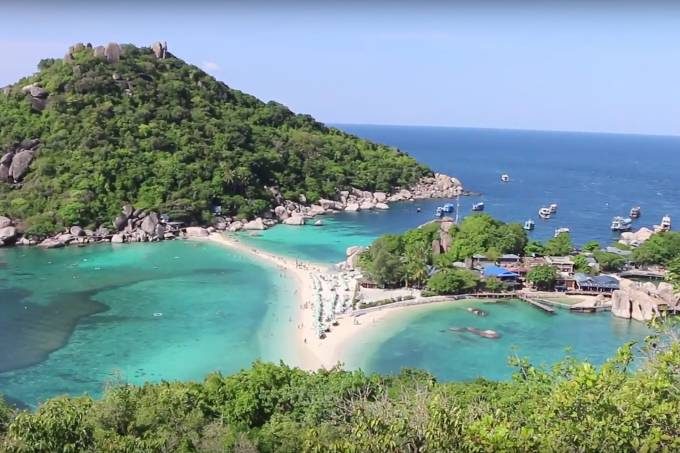 Golfo da Tailândia websérie Pé na Areia Paula Varejão