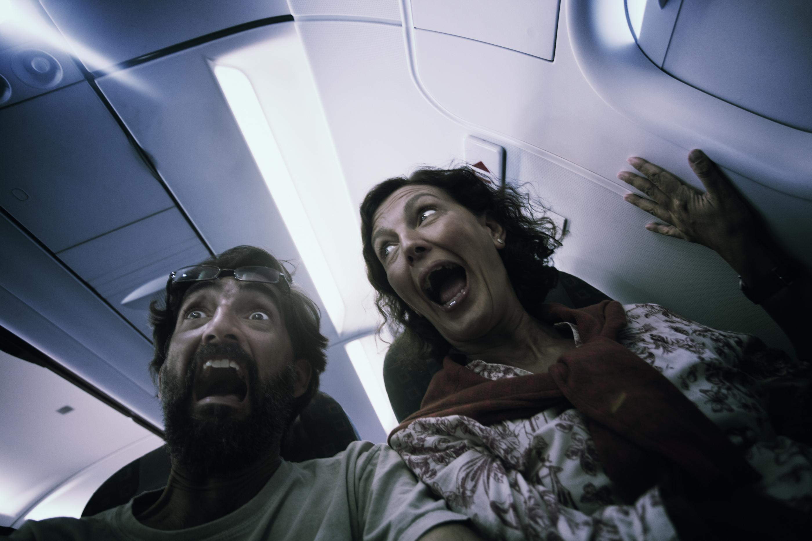 pânico em avião