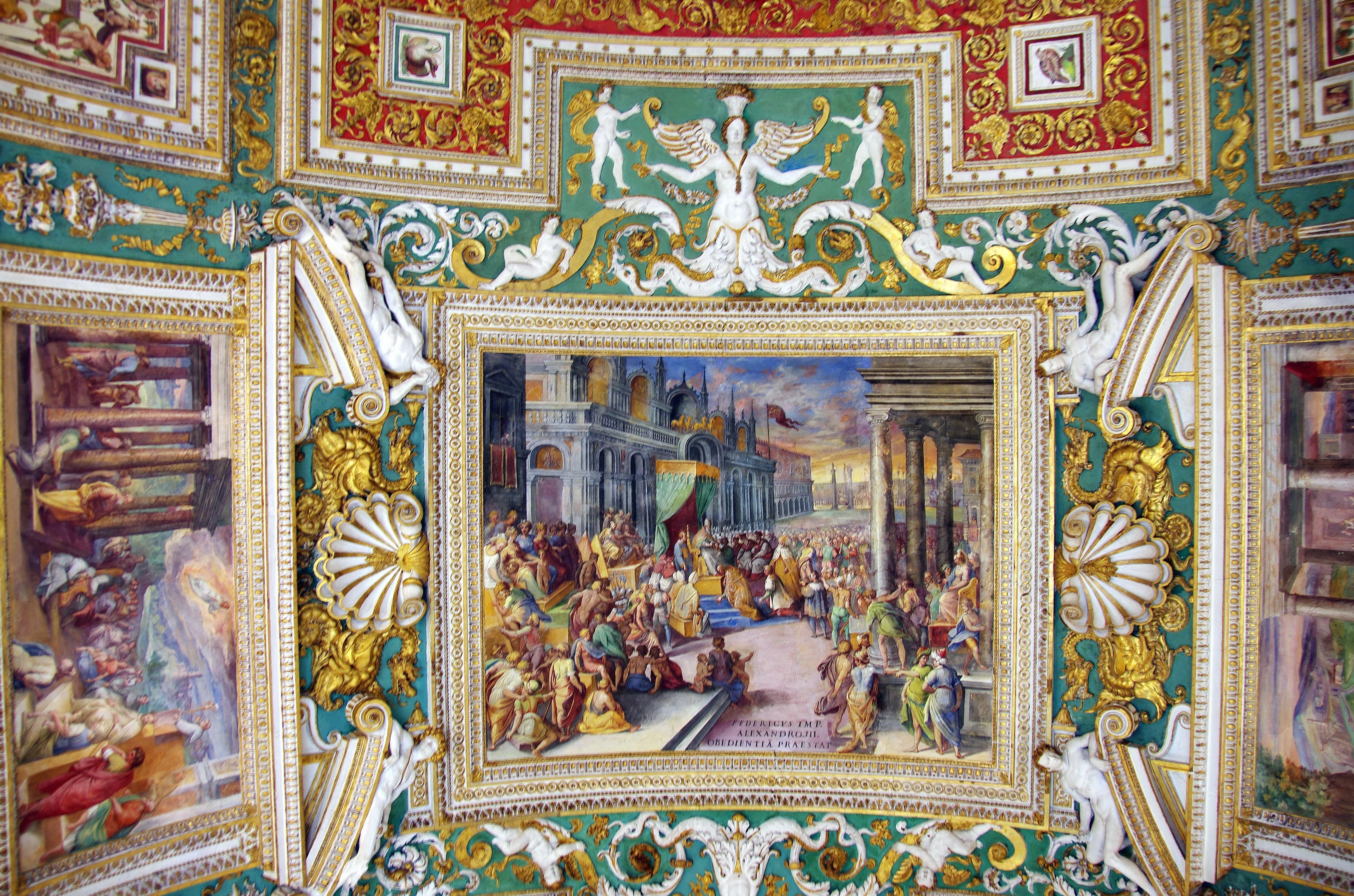 Teto do Museu do Vaticano