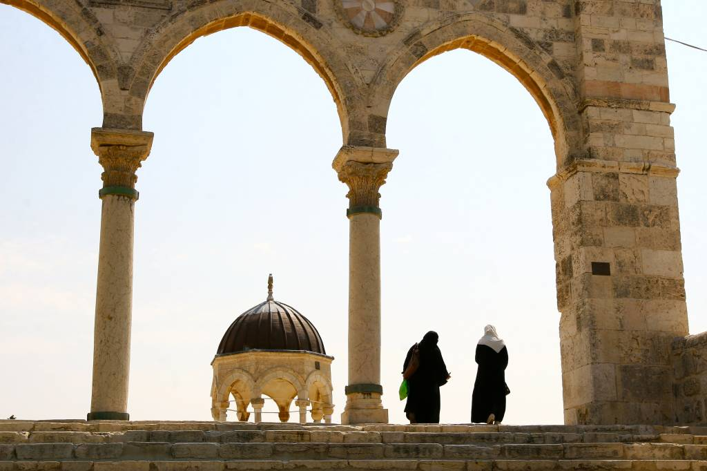 Esplanada das Mesquitas, Jerusalém, Israel