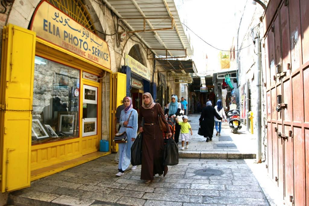 Ruelas, Cidade Velha de Jerusalém, Israel