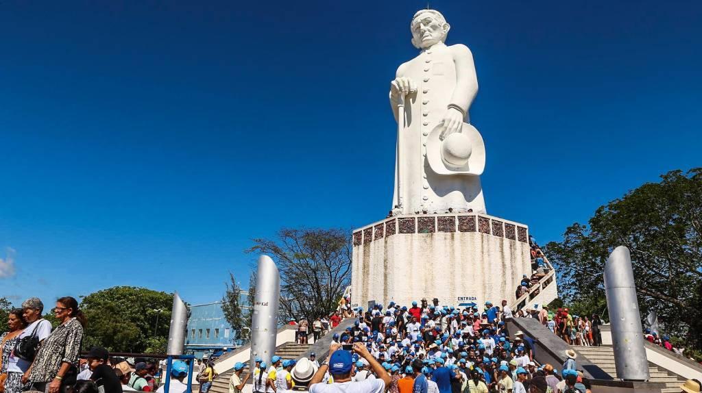 Estátua Padre Cícero, Juazeiro do Norte, Ceará, Brasil