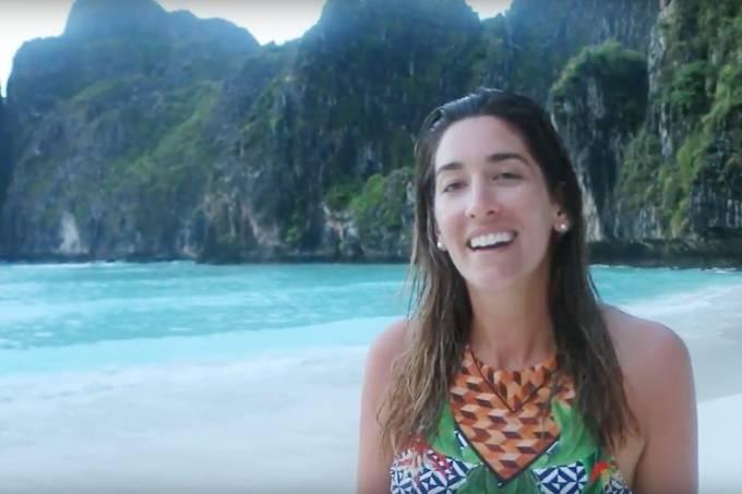 Koh Phi Phi Tailândia série videos Pé na Areia Paula Varejão