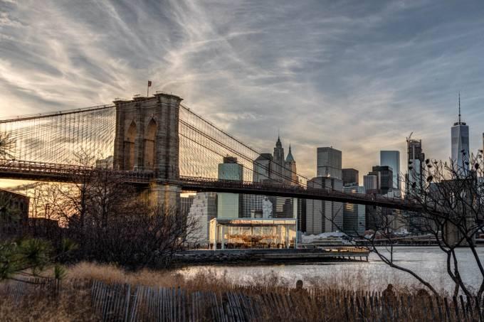 Riverside Nova York inverno