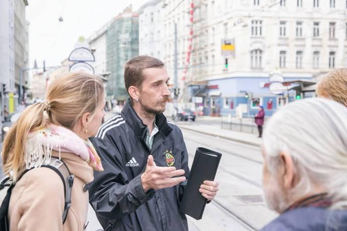 Shades Tour em Viena, Áustria: walking tours com moradores de rua
