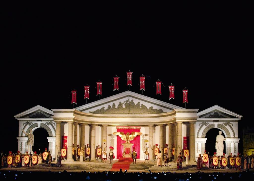Teatro de Nova Jerusalém, Brejo de Madre de Deus, Pernambuco, Brasil