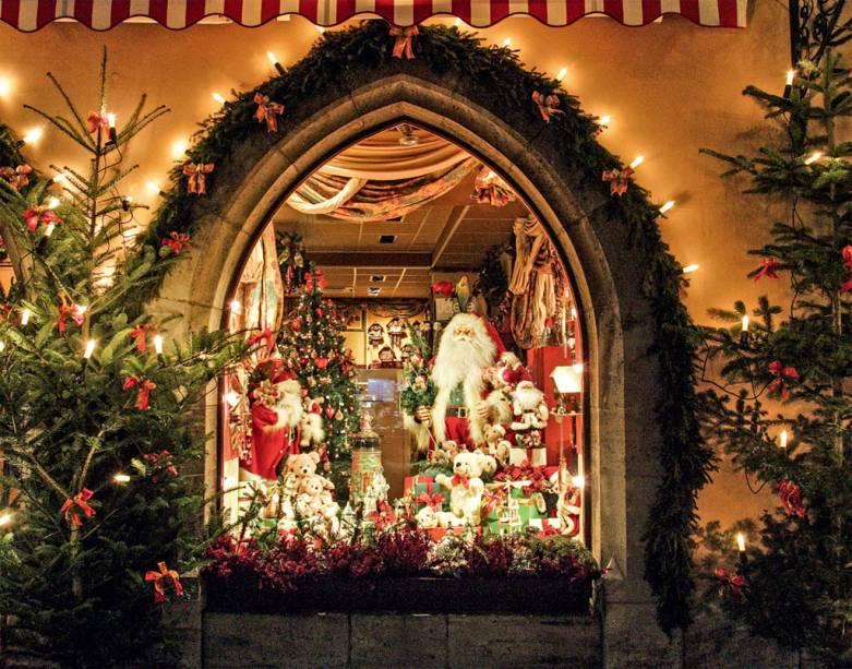 No Museu do Natal, Papai Noel dá expediente 365 dias por ano