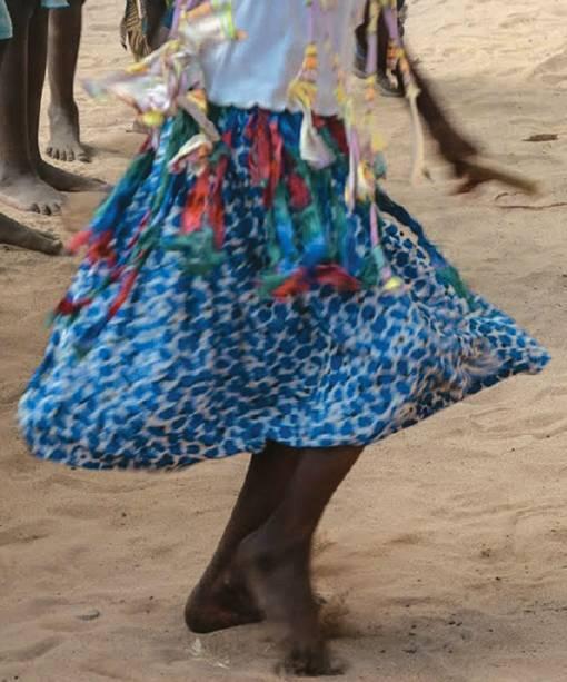Dançando em Inhambane