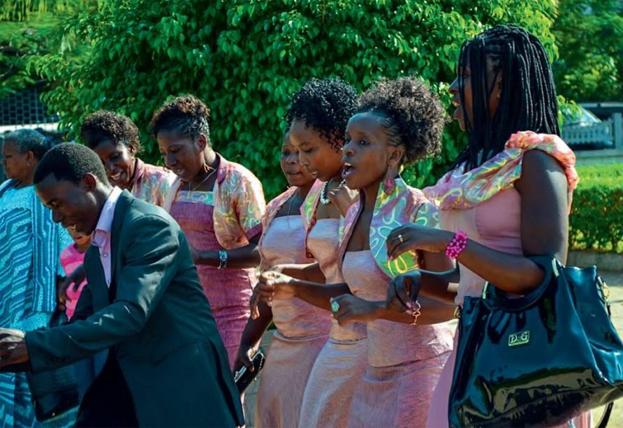 Festa em Maputo