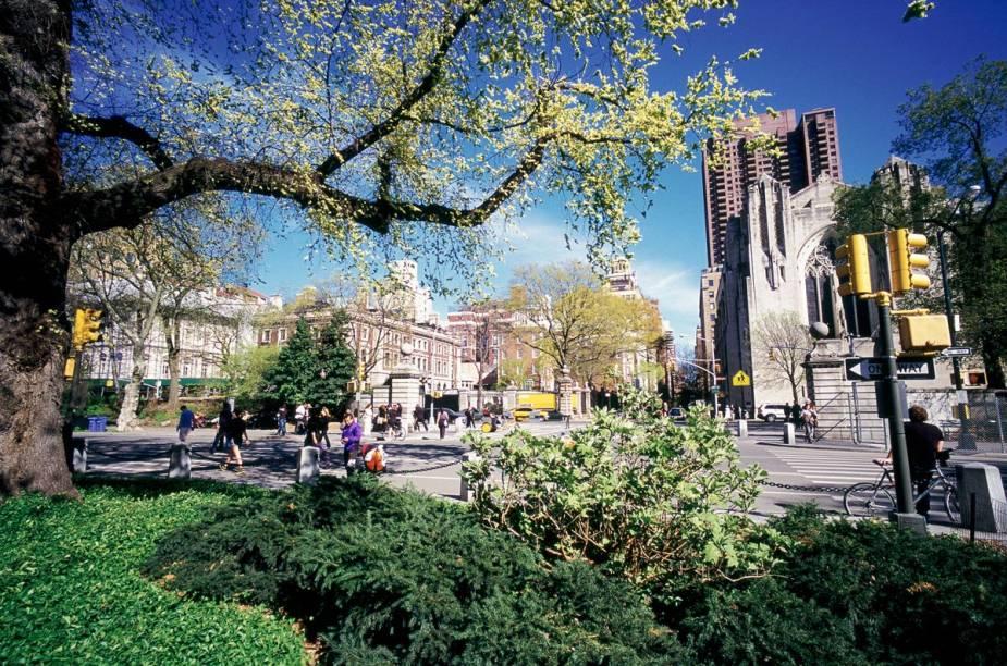 Vista da 5ª Avenida, em Nova York, a partir do Central Park