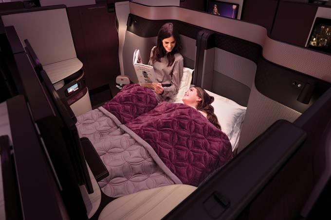 Qatar Airways – Q Suíte