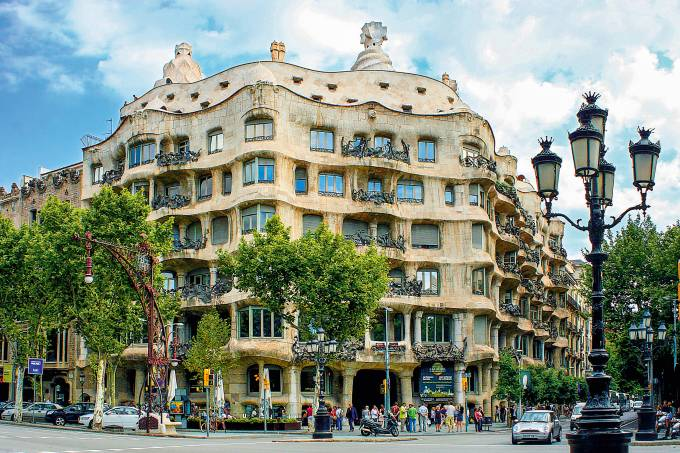 Casa Milá, Barcelona, Espanha