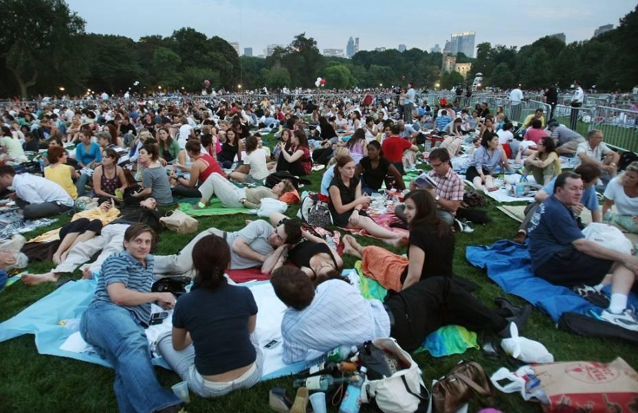 As quentes noites do verão nova-iorquino têm uma agenda lotada de festivais de cinema, artes, dança e música em espaços como o Central Park