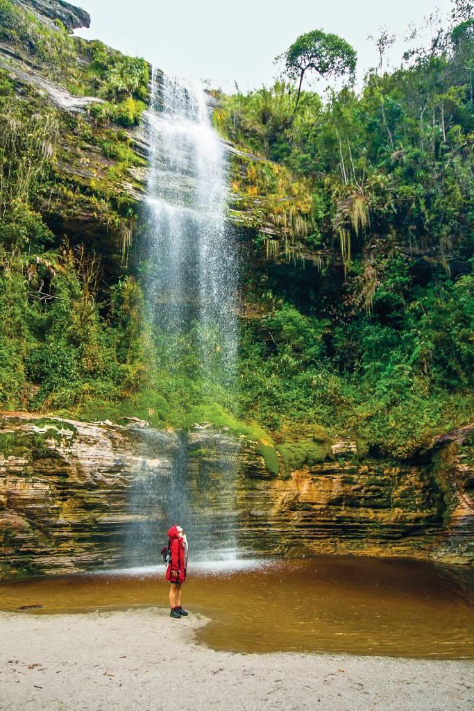 Cachoeirinha de Conceição do Ibitipoca, na trilha para a Janela do Céu