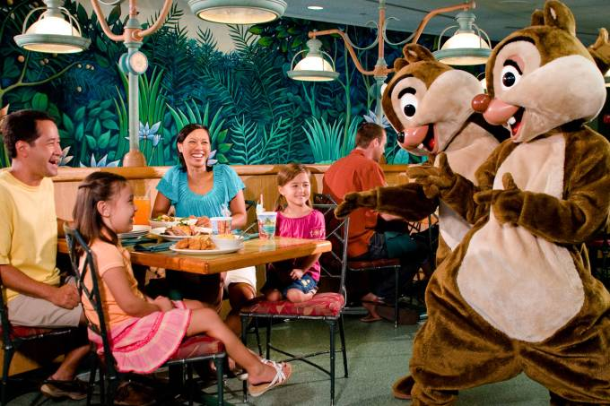 Restaurante The Garden Grill, Disney, Orlando, Flórida, Estados Unidos