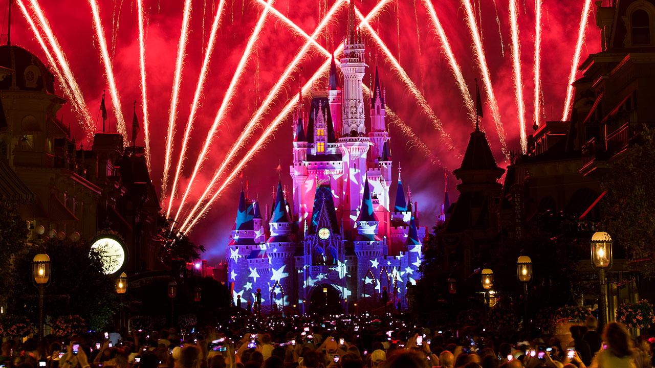 Show de fogos Magic Kingdom