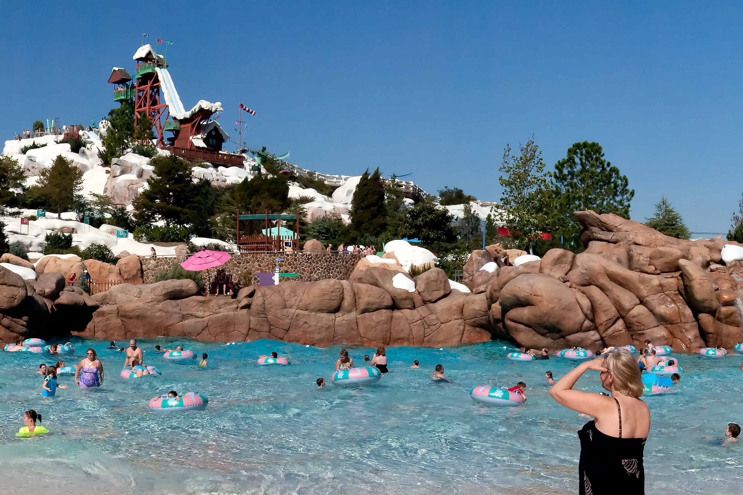 Parque aquático Disney's Blizzard Beach em Orlando, Estados Unidos