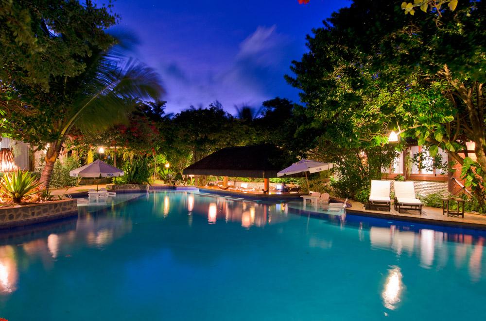 Piscina do Hotel e Resort Sombra e Àgua Fresca