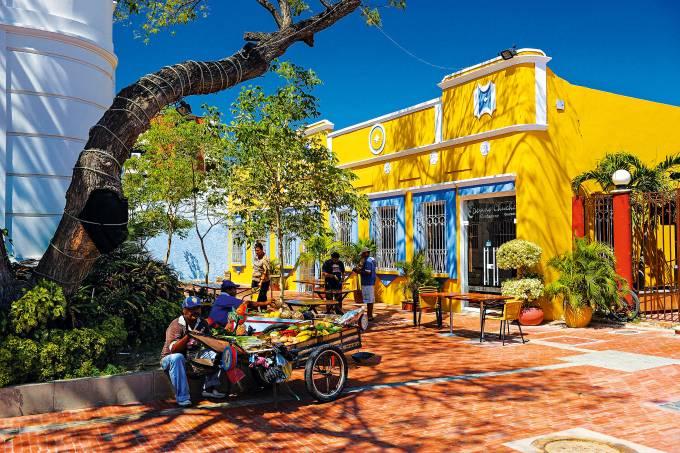 Centro de Santa Marta, Colômbia