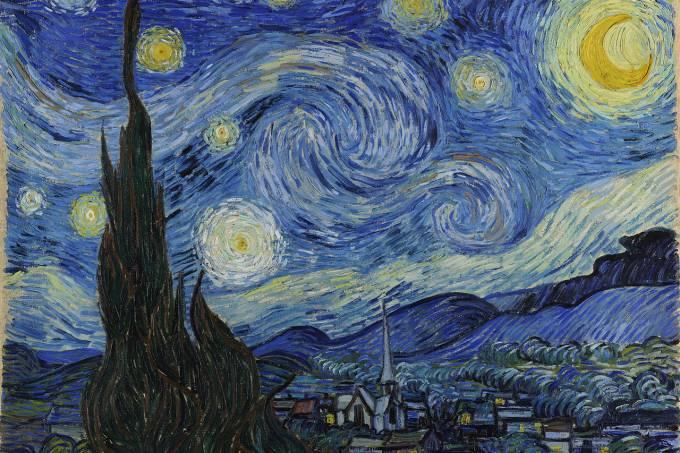 A Noite Estrelada, de Van Gogh