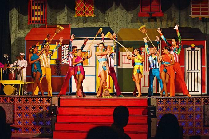 Show de salsa, Escuela Nacional Circo para Todos, Santiago de Cali, Colômbia