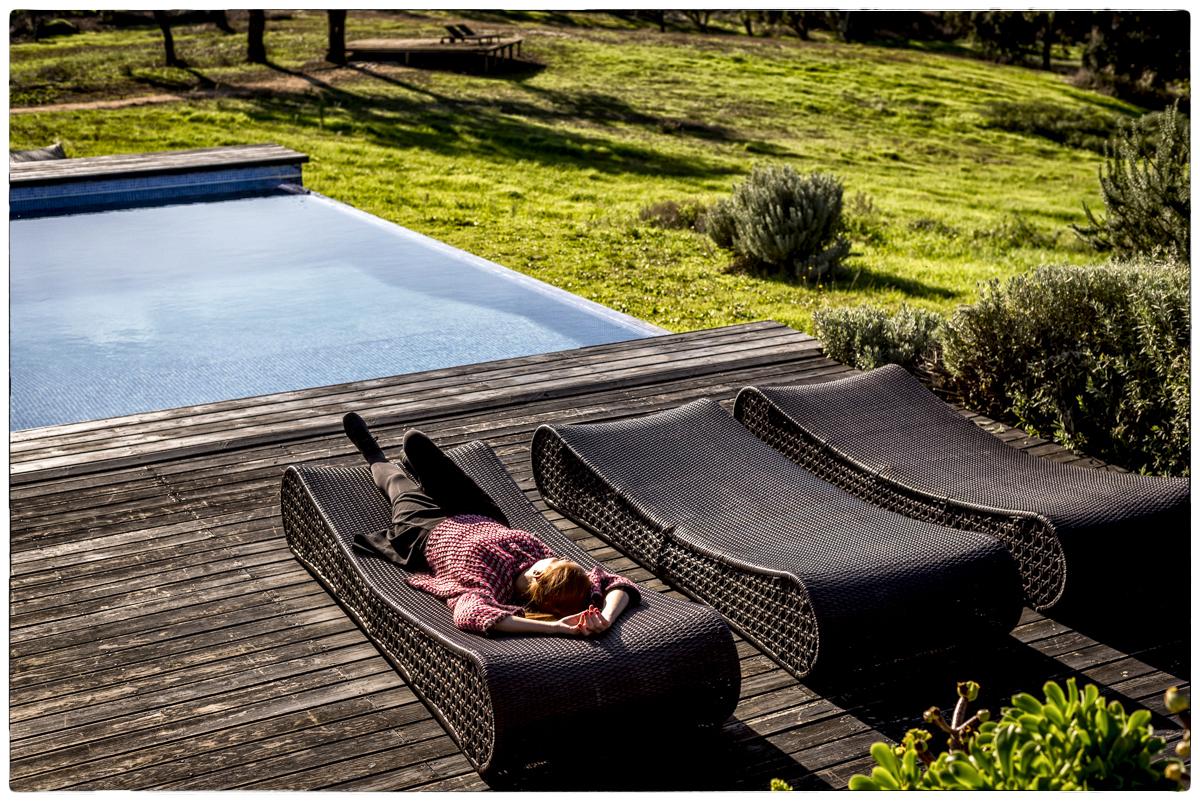 A piscina com vista infinita: quem vai querer sair dali?