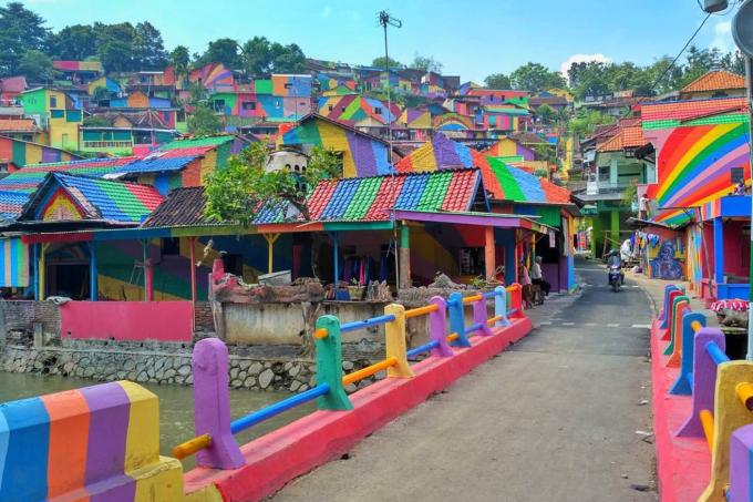 Kampung Pelangi – Indonési