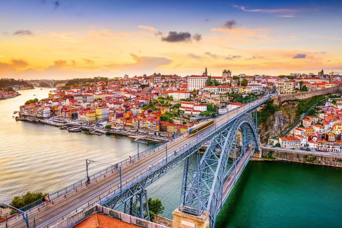 Ponte D. Luís, Porto, Portugal