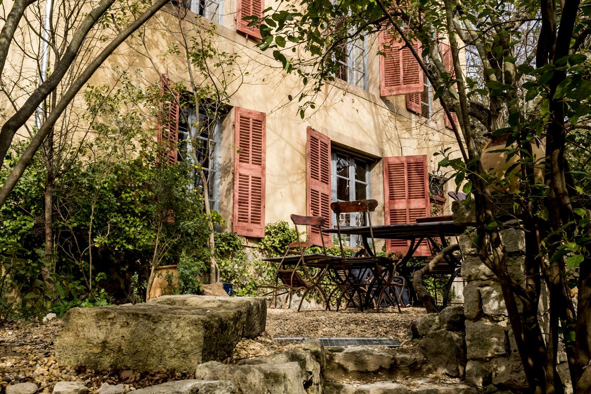 A fachada do Atelier Cézanne: nos domínios do mestre