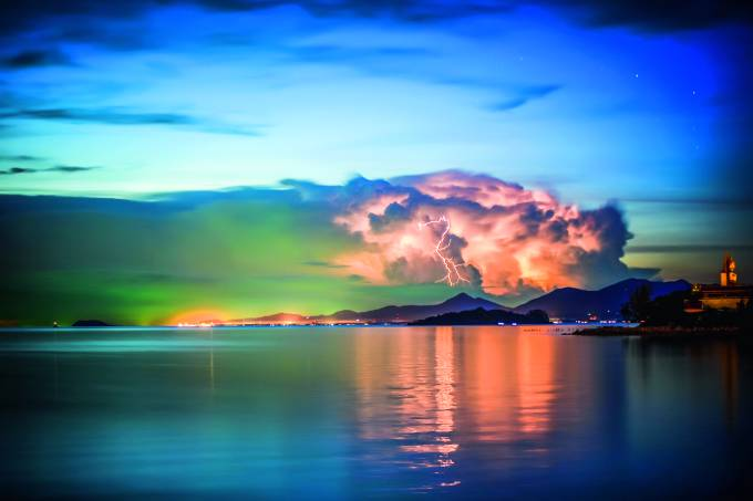 Tempestade, Koh Samui, Tailândia