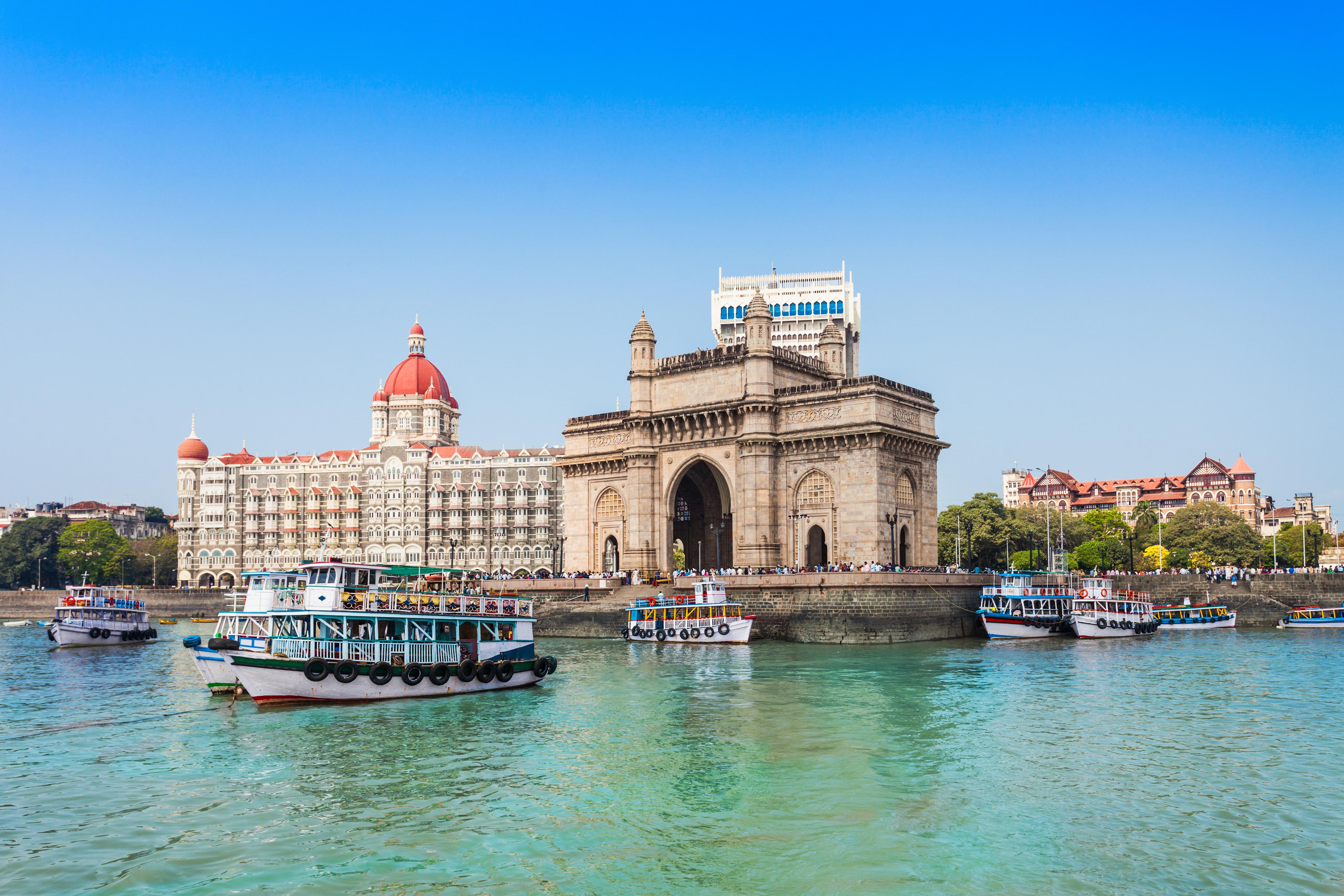 Taj Mahal Hotel e Gateway na India