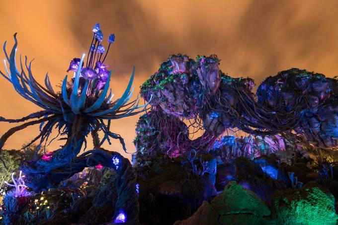 Pandora – O Mundo de Avatar, área nova do Magic Kindgom, do parque da Disney de Orlando