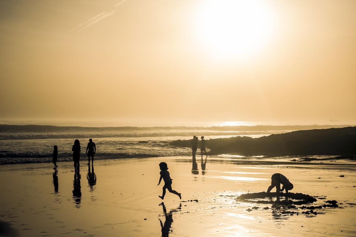 A Praia de Carcavelos: 20 minutos de Lisboa