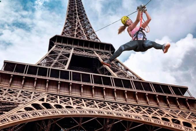 smash perrier – Torre Eiffe,