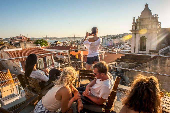 Park rooftop, Lisboa, Portugal