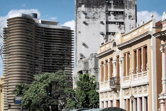 Imagem da região do Centro de Belo Horizonte