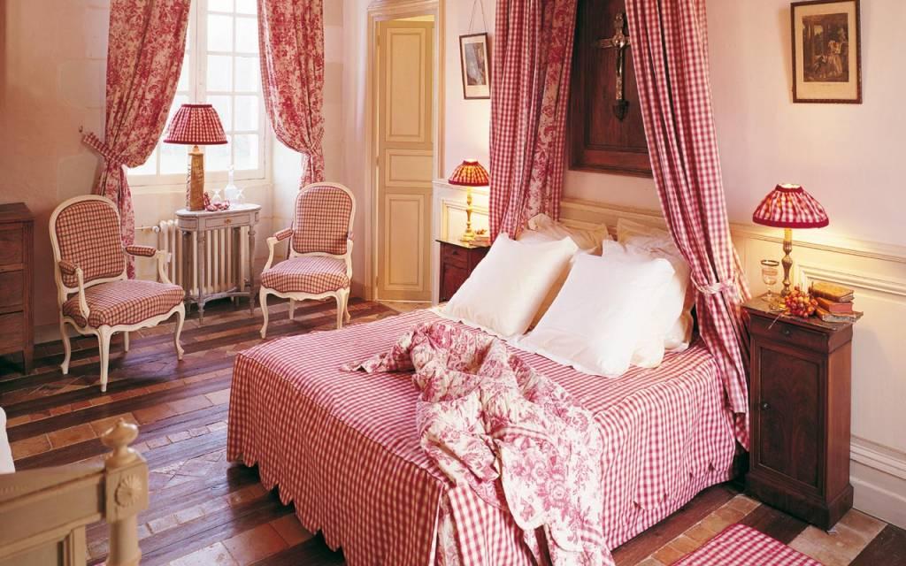 Chateau Chambiers no Vale do Loire, Franca - suíte Caroline