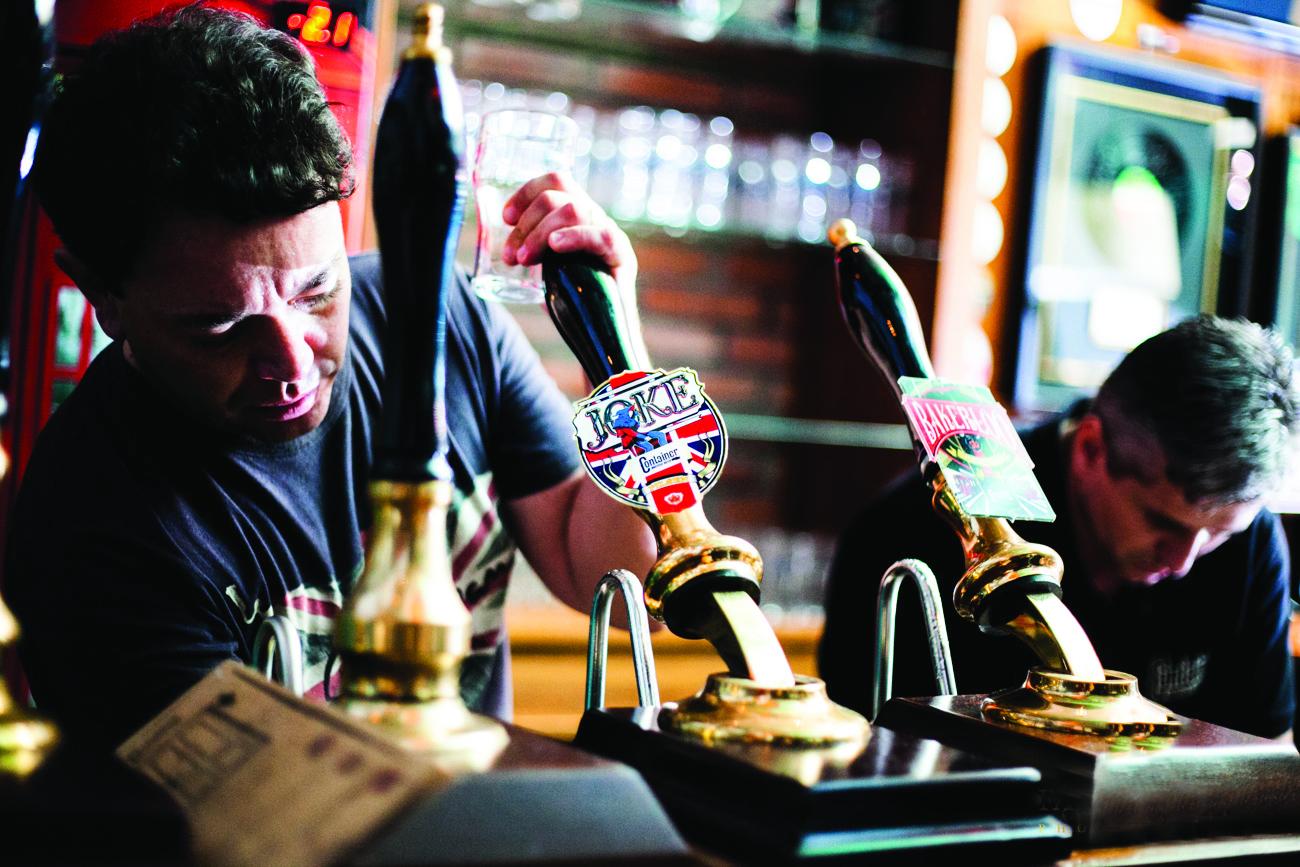 Container British Beer, Fabio