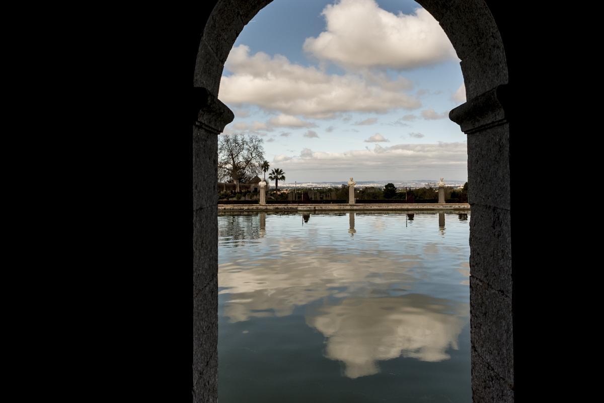 A linda Casa do Lago, no Palácio da Bacalhôa