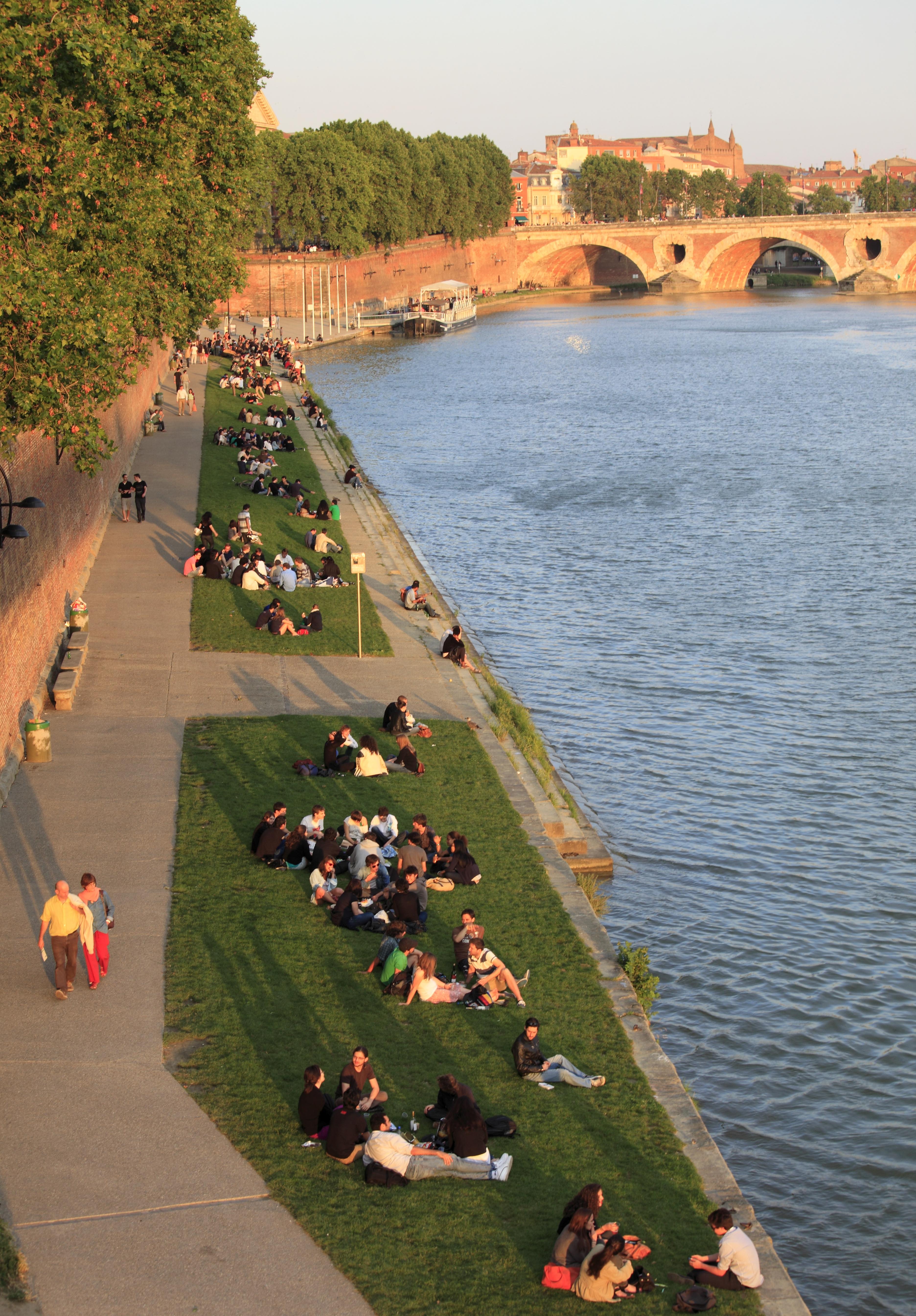 Cidade de Toulouse, no sudoste da França