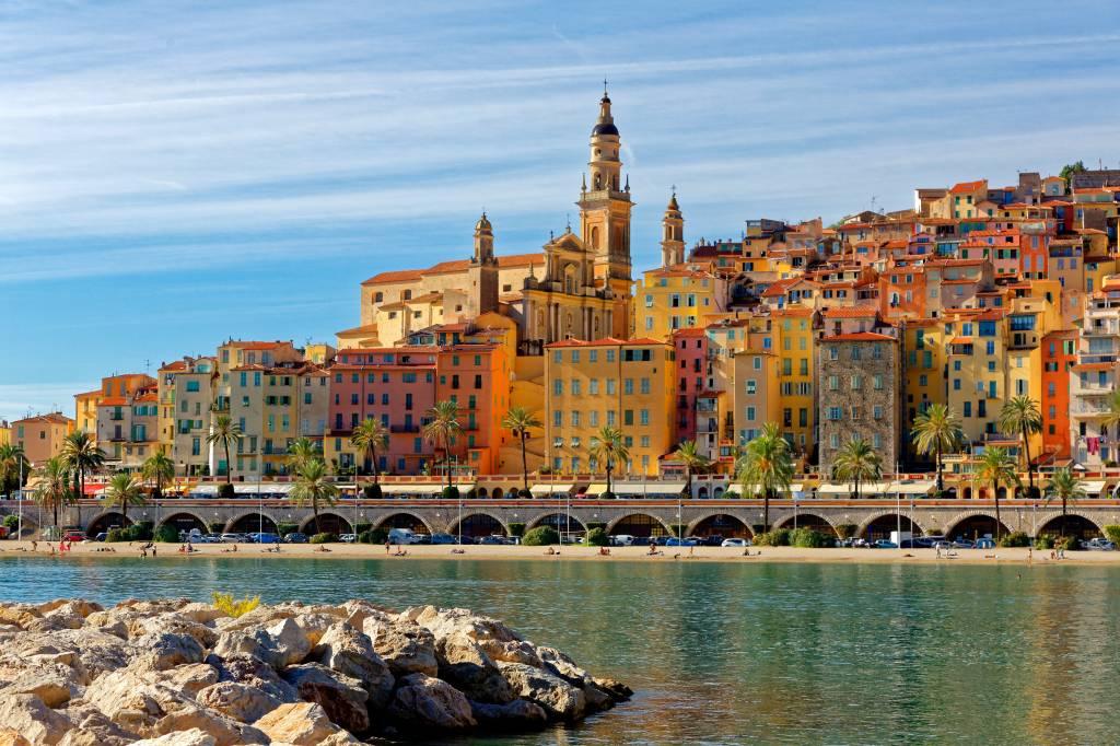 Menton, Cote d'Azur, Sul da França