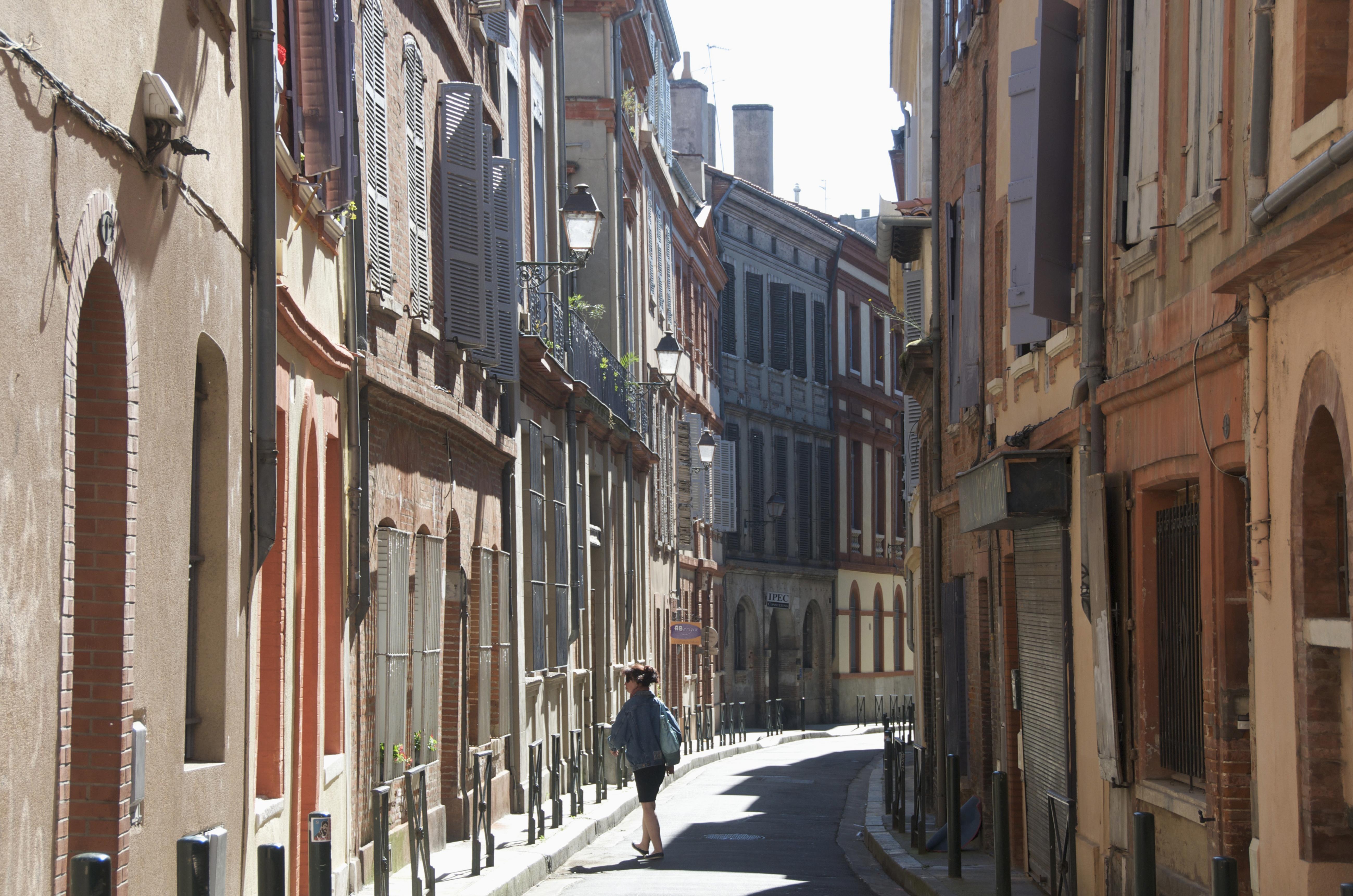 Ruas de Toulouse, Haute-Garonne, na França