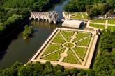 Chateau de Chenonceau com a Renaissance na França